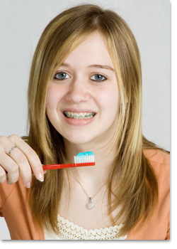 how to properly floss and brush your teeth