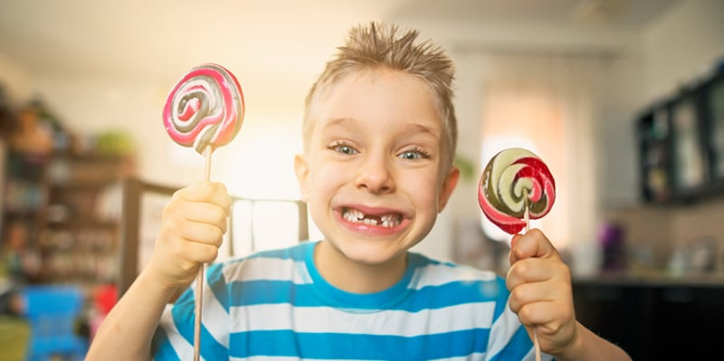 braces and candy